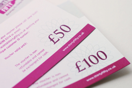 Gift vouchers available online